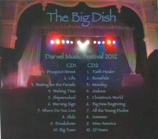 Darvel Music Festival 2012 back cover