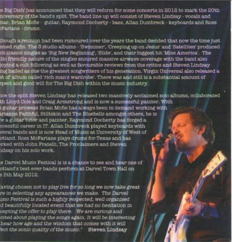 Darvel Music Festival inside cover