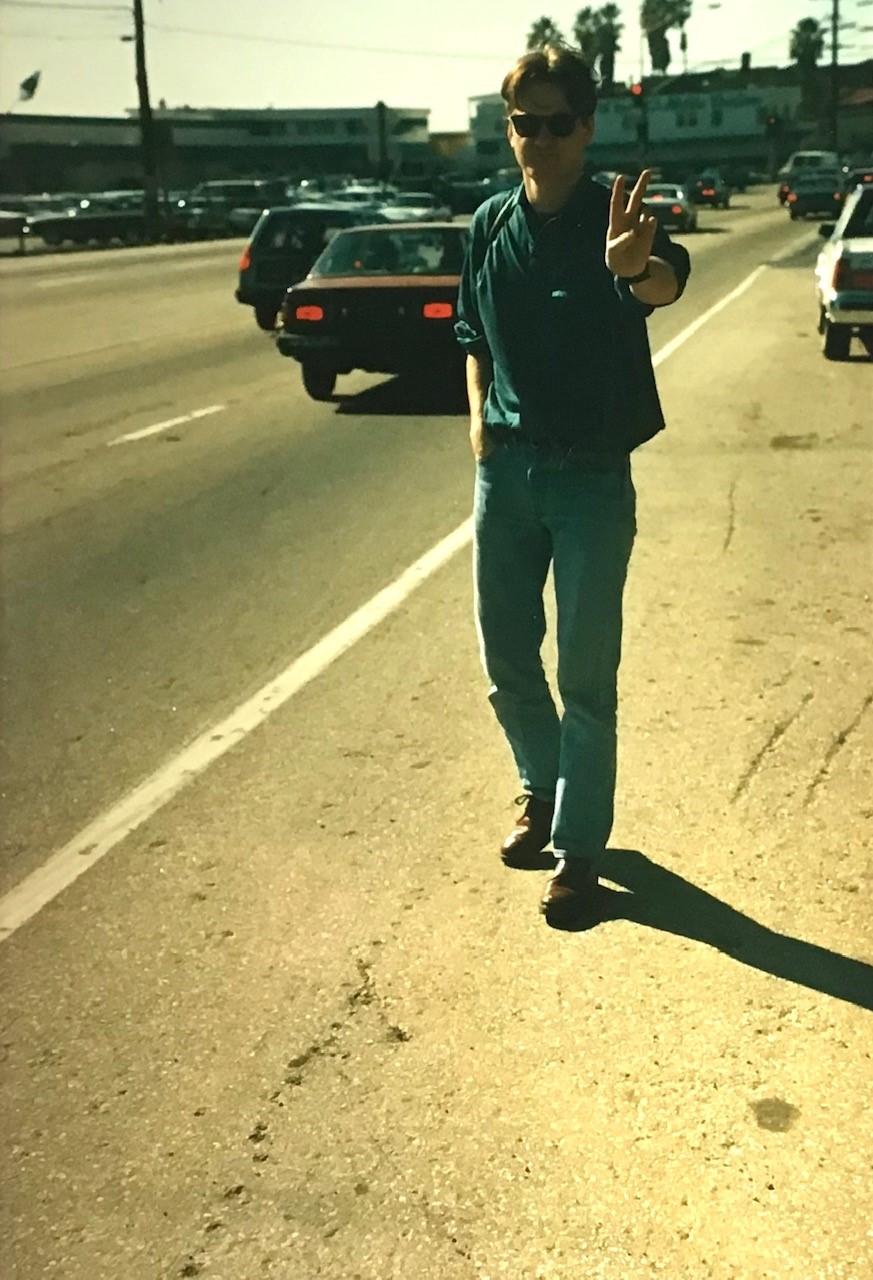 Steven Lindsay in California