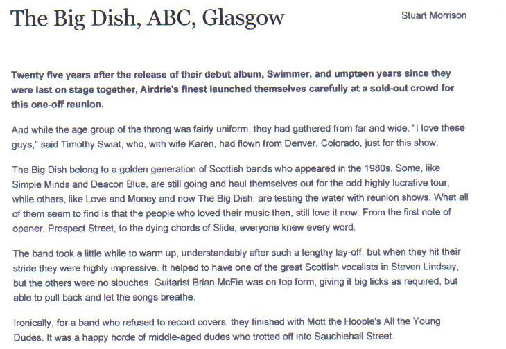 ABC Review By Stuart Morrison