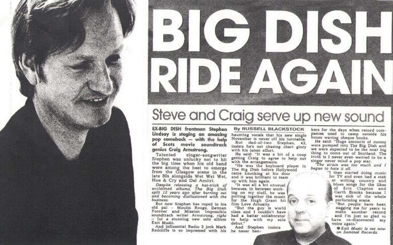 Big Dish Ride Again