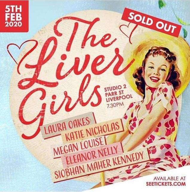 The Liver Girls at Studio 2 - Feb 5, 2020